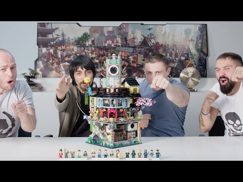 NINJAGO City - LEGO NINJAGO Movie - 70620 - Designer Video