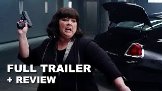 Spy 2015 Official Trailer + Trailer Review : Melissa McCarthy - Beyond The Trailer
