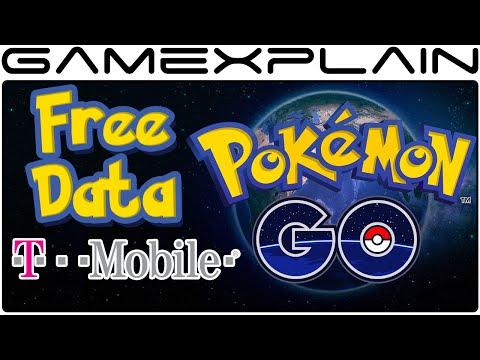 Pokemon Go Data Free for T-Mobile Customers