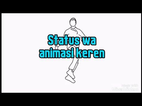 Status Wa Animasi Keren