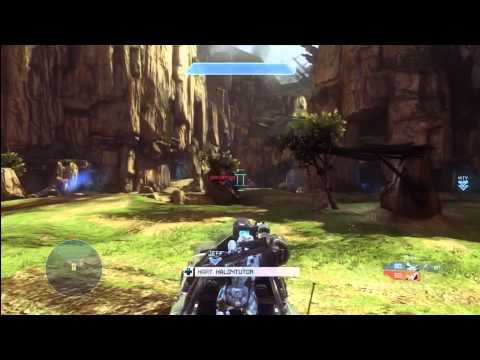Epic Halo 4 Highlight : Running Riot in The First Minute with a Killtrocity! - MUST WATCH!