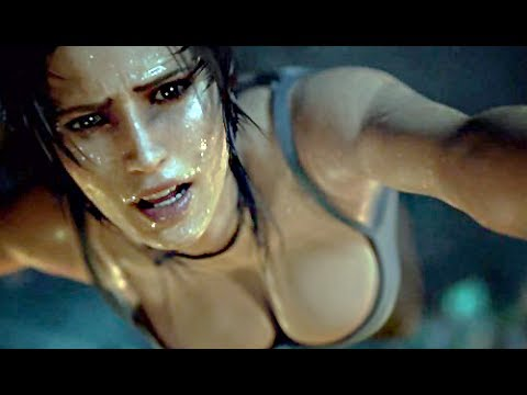 Tomb Raider Definitive Edition All Cutscenes Movie 2014 - PS4 XBOX ONE