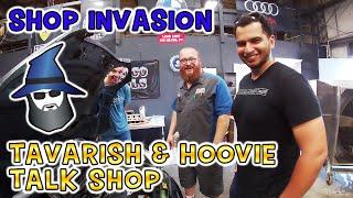 Tavarish and Hoovie invade the CAR WIZARD's shop