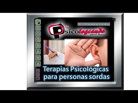 """Psicologeando 207 -  """"Terapia Psicológica para sordos en lenguaje de señas"""""""