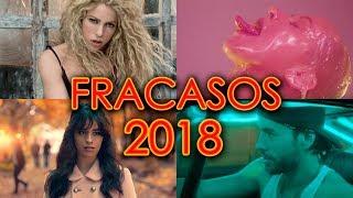 TOP 15 PEORES FRACASOS MUSICALES DEL 2018 | CANCIONES MENOS ESCUCHADAS | WOW QUÉ PASA