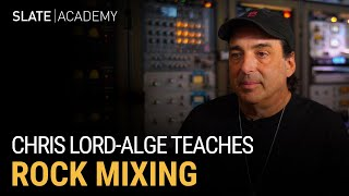 Learn Rock Mixing from Chris Lord-Alge 🤘⚡