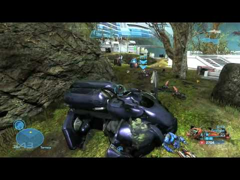 Halo: Reach Firefight - Beachhead Gameplay