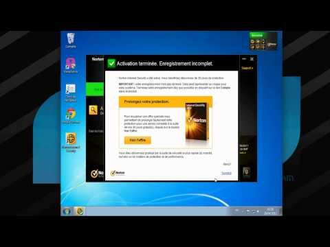 Antivirus Norton internet security 2012 installation version évaluation francais french