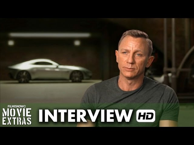 Spectre (2015) Behind the Scenes Movie Interview - Daniel Graig is 'James Bond'