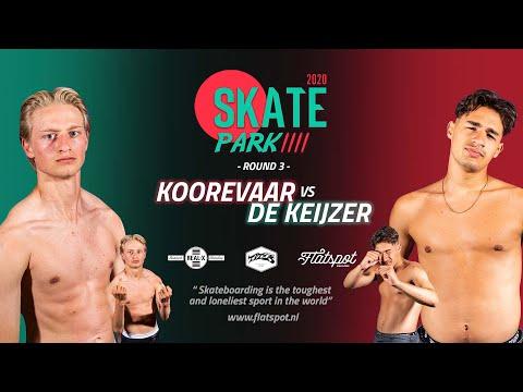 Game of SKATEpark 2020 - Game #13 - Jip Koorevaar vs Jay de Keijzer