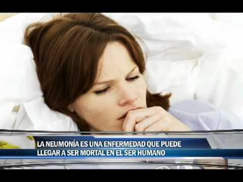 La neumonía es una enfermedad que puede llegar a ser mortal