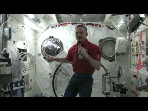 Chris Hadfield on getting sick in space