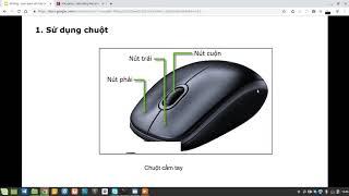 Sử dụng chuột máy tính - Làm quen với hệ điều hành Linux Mint