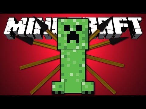 КРИПЕР ЛЮБИТ КОПЬЯ - Minecraft (Обзор Мода)