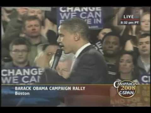 Amazing Speech by Barack Obama
