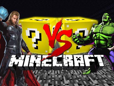 Minecraft: LUCKY BLOCK CHALLENGE   SUPER HEROES