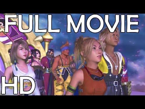 Final Fantasy X HD Remaster The Movie Marathon Edition All Cutscenes Story