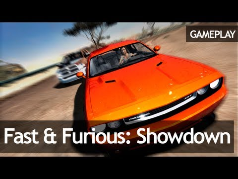 Fast & Furious: Showdown - Gameplay