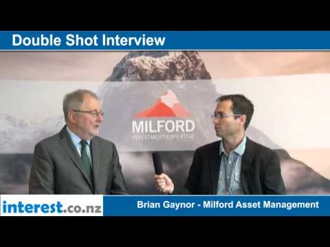 Double Shot Interview with Brian Gaynor - Milford Asset Management