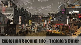 Exploring Second Life - Tralala's Diner - #SecondLifeChallenge