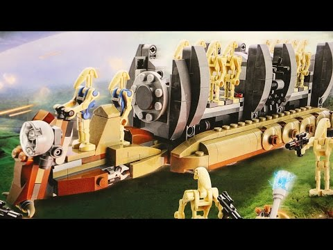 LEGO Star Wars Battle Droid Troop Carrier (Timelapse & Review) - Set 75086