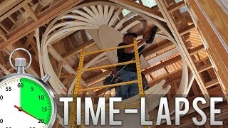 Oval Dome Ceiling Time-Lapse