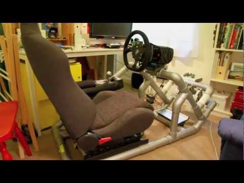 Hints & tips to DIY a PVC Sim driving rig. Part 1 of 5