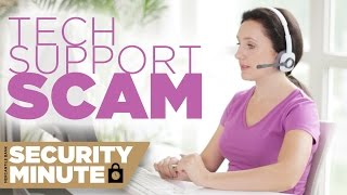 Security Minute | Tech Support Scam | Fake Tech Support Phone Calls