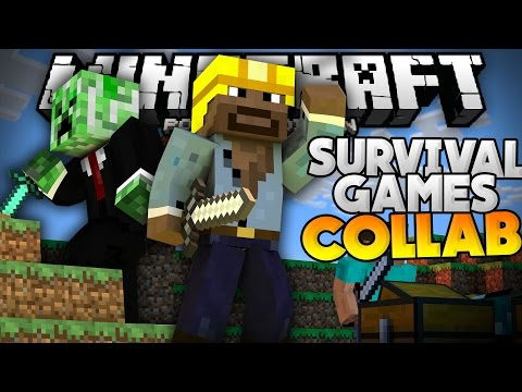 BRINGING BACK THE COLLABS?!?! - MCPE Survival Games LBSG w/AGHQ - Minecraft PE (Pocket Edition)
