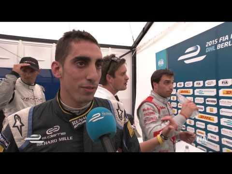 DHL Berlin ePrix - Sebastien Buemi post-race interview