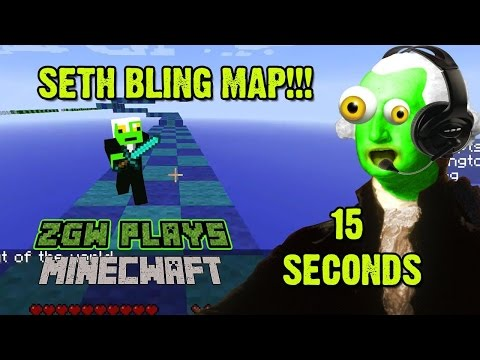 ZGW IS FALLING OUT OF THE SKY!! - Seth Bling's Minecraft Map