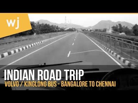 India Bus - Volvo - Bangalore to Chennai
