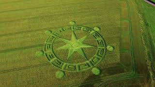 Sixpenny Handley CROP CIRCLE 3.6.2018 4K