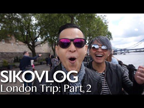 SIKOVLOG #19 - London Trip Part 2: The Bridge & The Eye
