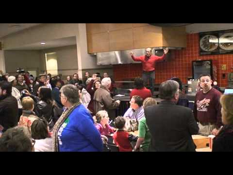 """Hallelujah"" Flash Mob at Mall"