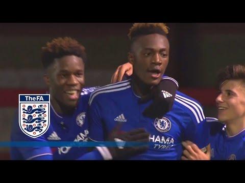 Man Utd U18 1-5 Chelsea U18 (2015/16 FA Youth Cup R4) | Goals & Highlights