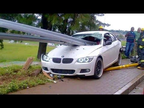اقوى حوادث سيارات BMW ممنوع لاصحاب القلوب الضعيفة