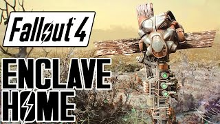 Fallout 4 - ENCLAVE Remnant Bunker Player Home! - Great Backstory & Features - Xbox & PC Mod