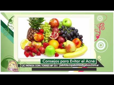 Nutrición: Combatir el Acné (2/2)