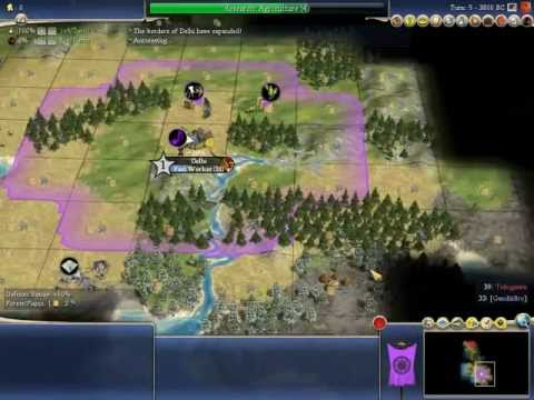 Let's Play Civilization 4: Beyond the Sword - Part 1