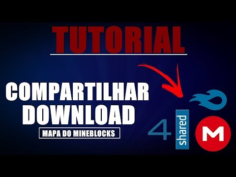 Tutorial Mine Blocks-importar/exportar, e compartilhar para download!