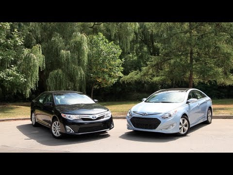 2012 Toyota Camry vs 2012 Hyundai Sonata Hybrid Comparison