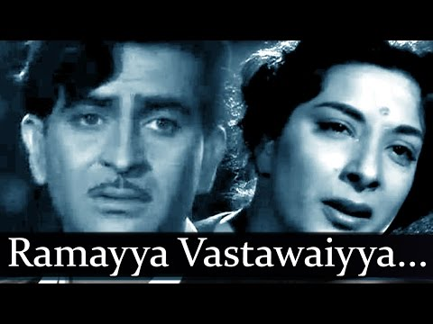 Shree 420 - Song - Ramayya Vastawaiyya - Lata Mangeshkar Mohammed...
