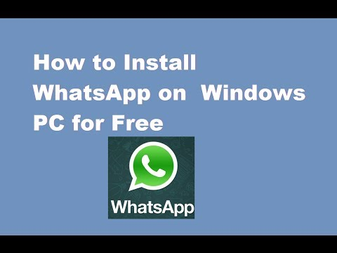 Download 32 bit whatsapp for xp for free (Windows)