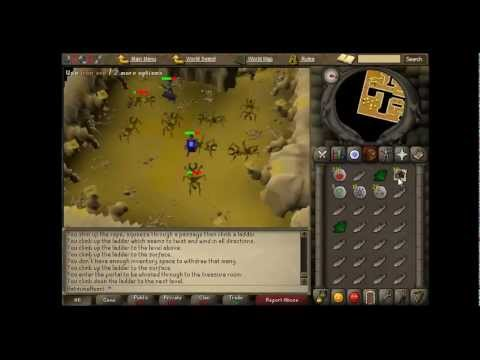Old Runescape: Security Stronghold Combat Guide in 2007 Runescape [40-70 cb-Moneymaking]