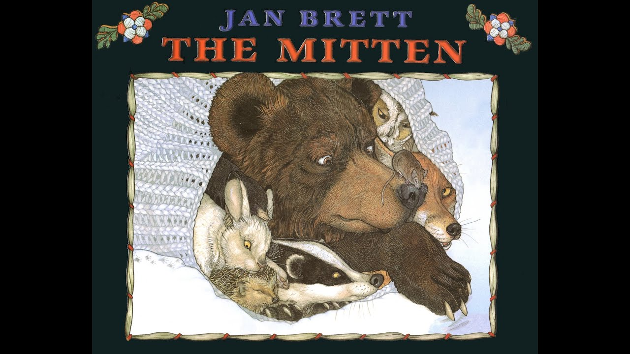 THE MITTEN. A Ukrainian Folktale adapted and illustrated by JAN BRETT ...