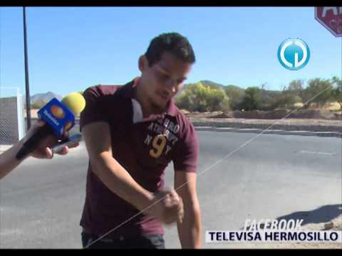Noticieros Televisa Hermosillo - Explica joven cómo creó el papalote que fue confundido con un supuesto ovni