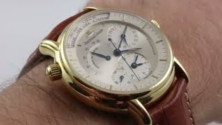 Jaeger-LeCoultre Master Control Geographic 169.1.92 Luxury Watch Review