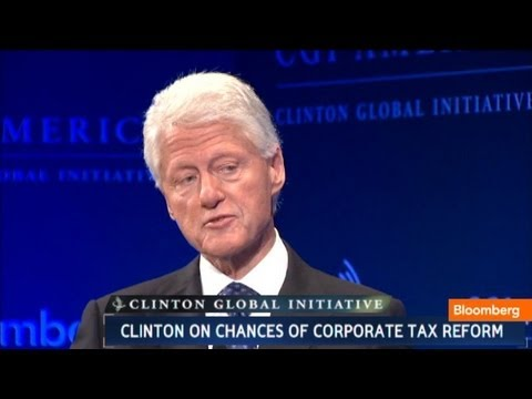 Bill Clinton: I Raised Corporate Taxes to Get Debt Down