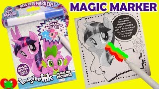 My Little Pony The Movie Imagine Ink Magic Marker Coloring Book